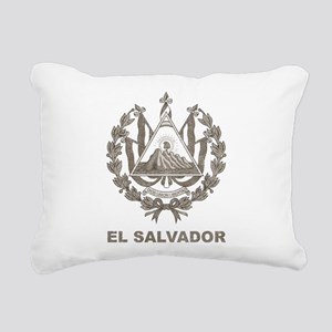 Vintage El Salvador Rectangular Canvas Pillow