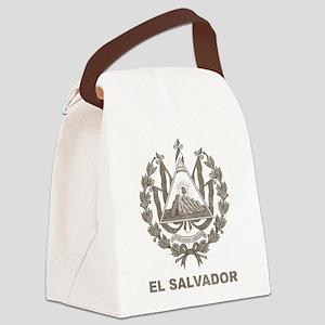Vintage El Salvador Canvas Lunch Bag