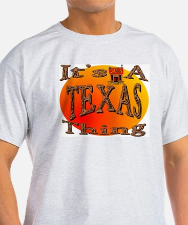 Texas Ash Grey T-Shirt