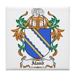 Aland Coat of Arms Tile Coaster