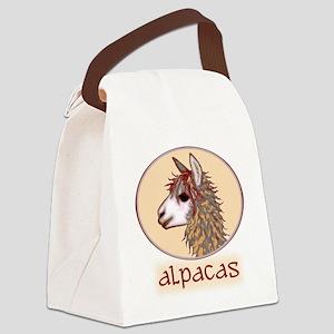 alpaca annie's Canvas Lunch Bag