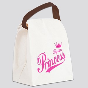Fijian Princess Canvas Lunch Bag