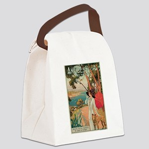 Dellepiane Antibes France Canvas Lunch Bag