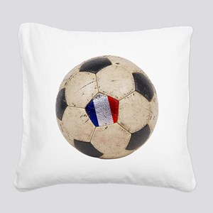 France Football Square Canvas Pillow