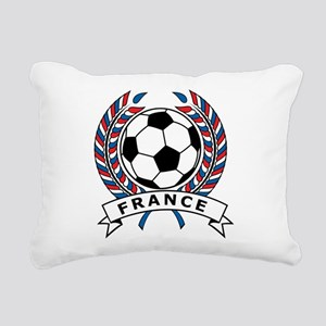 Soccer France Rectangular Canvas Pillow