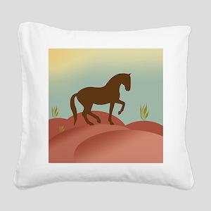 landscape piaffe 3 Square Canvas Pillow