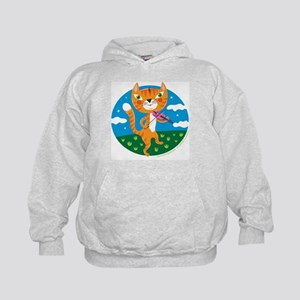 """The Cat and the Fiddle"" Kids Hoodie"