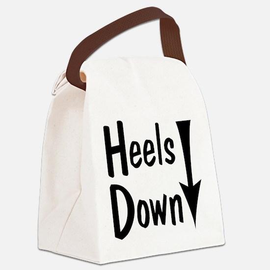 Heels Down! Arrow Canvas Lunch Bag