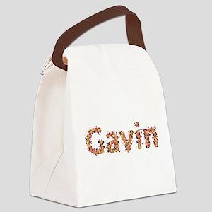Gavin Canvas Lunch Bag