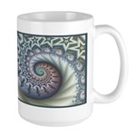 Star Spangled Spiral Large Mug