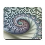 Star Spangled Spiral Mousepad