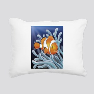 Clown Fish Rectangular Canvas Pillow