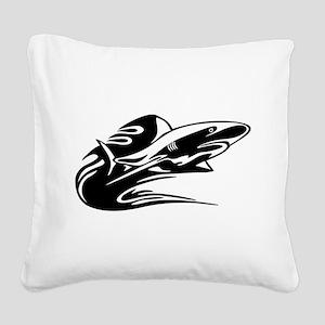 fish2 Square Canvas Pillow