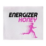 Energizer Honey Throw Blanket