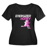 Energizer Honey Women's Plus Size Scoop Neck Dark