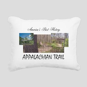 Appalachian Trail Americ Rectangular Canvas Pillow
