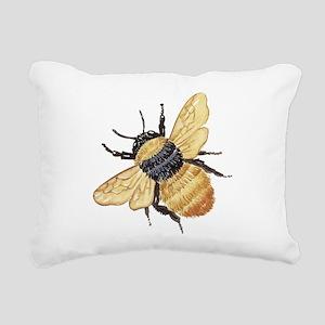 bumblebee Rectangular Canvas Pillow