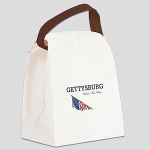 ABH Gettysburg Canvas Lunch Bag