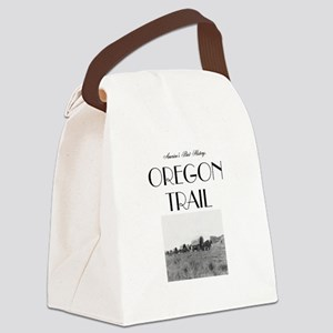 ABH Oregon National Historic Trai Canvas Lunch Bag