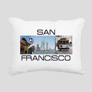 ABH San Francisco Rectangular Canvas Pillow