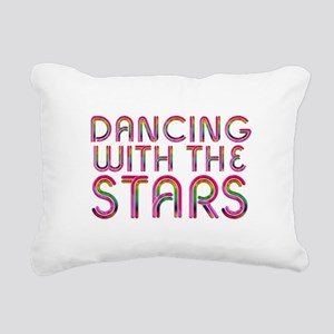 Dancing with the Stars Rectangular Canvas Pillow