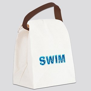 Swim Canvas Lunch Bag
