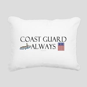 Coast Guard Always Rectangular Canvas Pillow