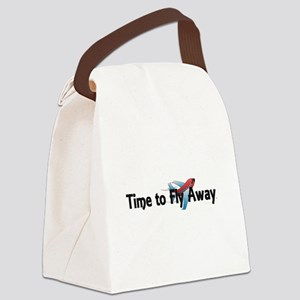 Time to Fly Away Canvas Lunch Bag