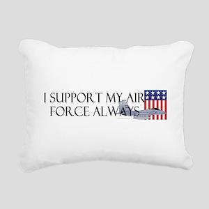 2-airforcealways Rectangular Canvas Pillow
