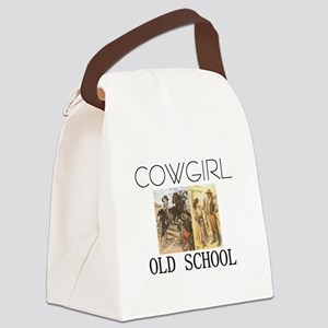 cowgirlos2tran Canvas Lunch Bag