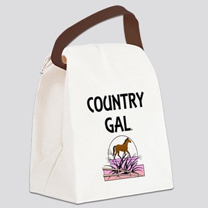 Country Gal Canvas Lunch Bag