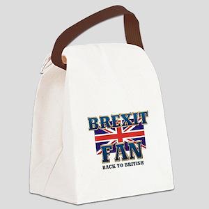 Brexit Fan Canvas Lunch Bag