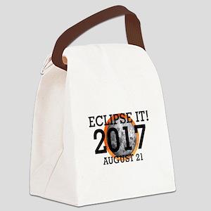 Eclipse 2017 Canvas Lunch Bag