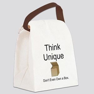 Think Unique Canvas Lunch Bag