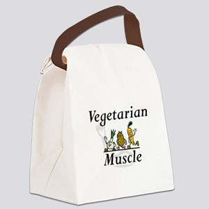 TOP Vegetarian Muscle Canvas Lunch Bag