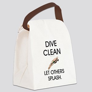 Dive Clean Canvas Lunch Bag
