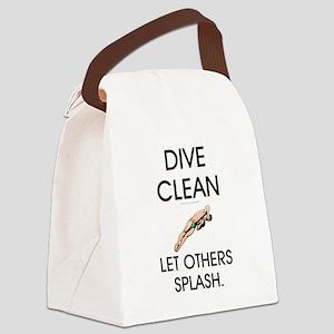 Dive Clean Canvas Lunch Bag