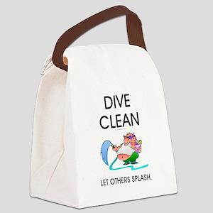 TOP Dive Clean Canvas Lunch Bag