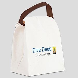 TOP Scuba Diving Canvas Lunch Bag