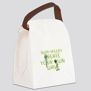 Create Your Own Wave Canvas Lunch Bag