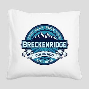 Breckenridge Ice Square Canvas Pillow
