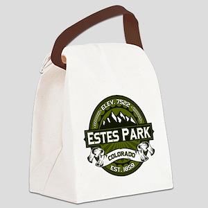 Estes Park Olive Canvas Lunch Bag