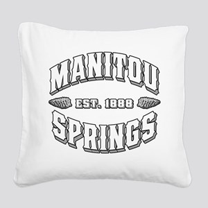 Manitou Springs Old Style Darks Square Canvas