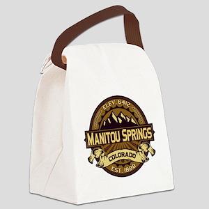 Manitou Shirt Logo Sepia Canvas Lunch Bag