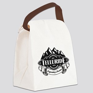 Telluride Mountain Emblem Canvas Lunch Bag