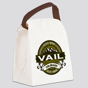 Vail Olive Canvas Lunch Bag