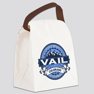 Vail Blue Canvas Lunch Bag