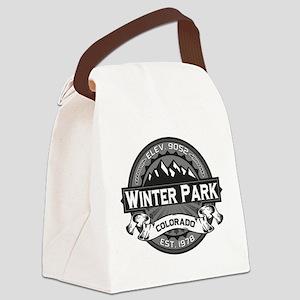 Winter Park Grey Canvas Lunch Bag