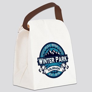 Winter Park Ice Canvas Lunch Bag
