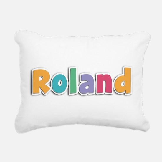 Roland Rectangular Canvas Pillow